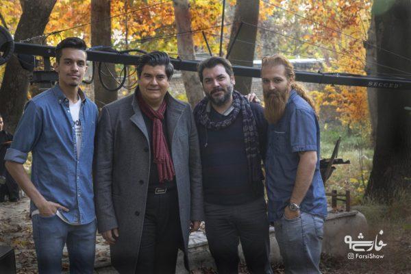 سالار عقیلی ، محمد سیحونی و گروه پشت صحنه